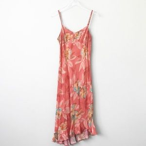 Jams World Francesca Print Maxi Dress in Sz S